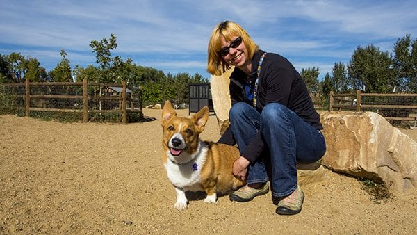 This corgi's name is Ein, a very popular corgi name due to the famous Cowboy Bebop animation series. (Photo: Joseph Wirth)