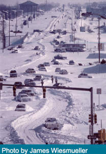 1978 XMAS eve winter blizzard