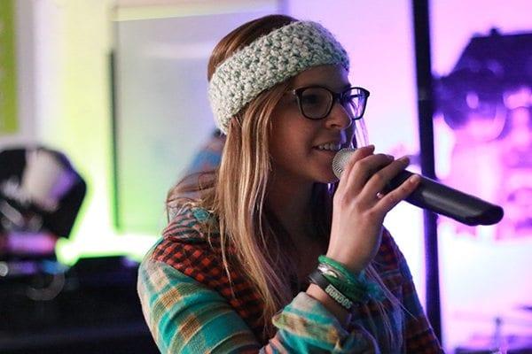Ashley Wilfire on vocals. Photo: Travis Bildahl