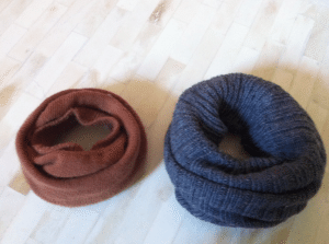 different socks for sock buns via honeynest