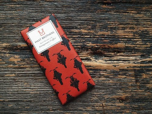Mast Brothers Stumptown Coffee chocolate bar. Photo Courtesy of Sameer Vasta.