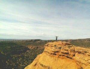 Buffs hiking in Moab - Photo credit: Ellen Jo
