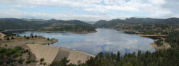 """Gross Reservoir"" by Jeffrey Beall - Own work. Licensed under CC BY 3.0 via Wikimedia Commons - http://commons.wikimedia.org/wiki/File:Gross_Reservoir.JPG#/media/File:Gross_Reservoir.JPG"