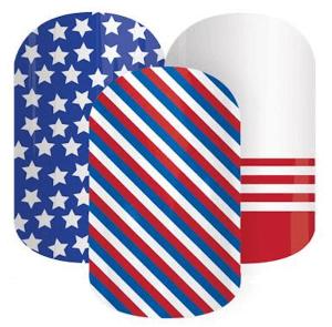 Patriotic Nail Wrap