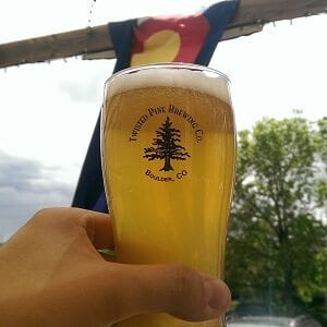 Twisted Pine Brewing Co Cucumber Cream Ale Boulder