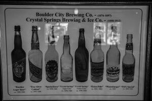 Each year Horst brews an anniversary beer to match one of the original brews offered by the original Crystal Springs Brewing and Ice Co.