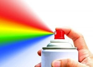Rainbow Aerosol