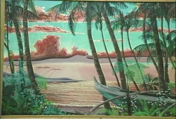 Tulagi mural