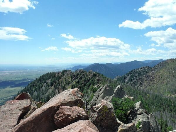 South Boulder Peak summit views