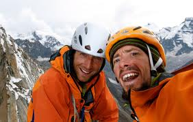 Adventurers and friends, Micah Dash and Jonny Copp