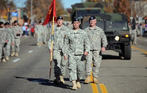 longmont veterans day parade