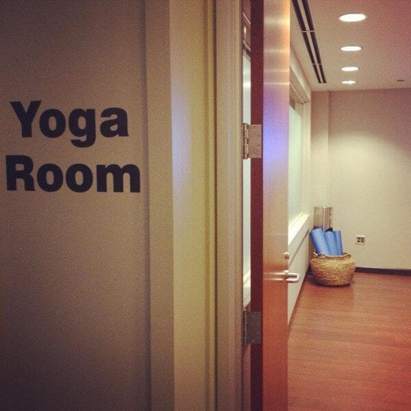 o'hare yoga room