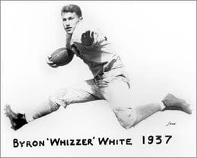 byron white running