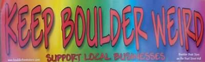 keep boulder weird