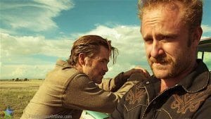 Hell or High Water - Toby (Chris Pine) and Tanner (Ben Foster) ©2016 CBS Films