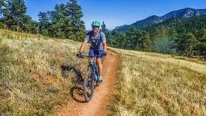 Mountain biking at Walker Ranch