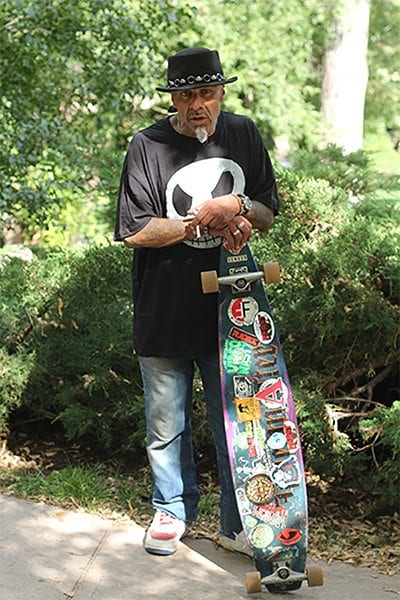 You don't stop skating because you're old, you're old because you stopped skating.