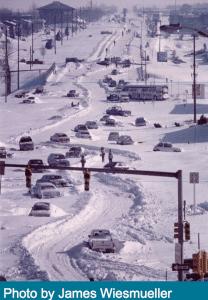 1978 XMAS eve winter blizzard