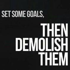 Demolish Goals