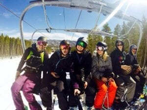 Buffaloes ski the Colorado Rockies! Why leave home? Photo credit: Taylor Dignam