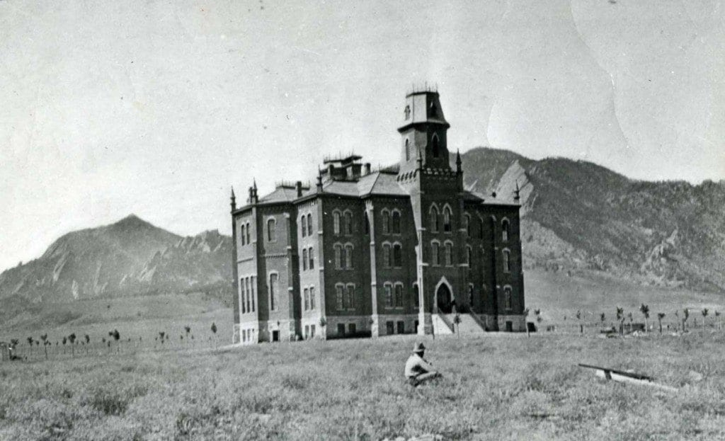 A Brief History Of Cu Boulder About Boulder County