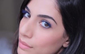 Blue Mascara