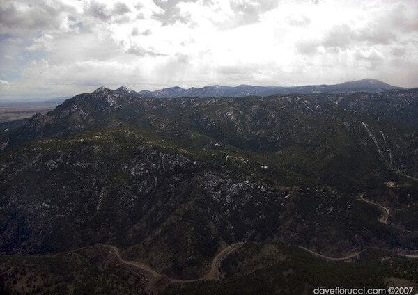 Aerial Shot of Boulder Canyon. Photo Credit: Dave Fiorucci, http://www.mountainproject.com/v/106008109