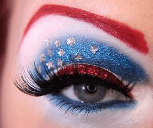 Captain America Eyemakeup