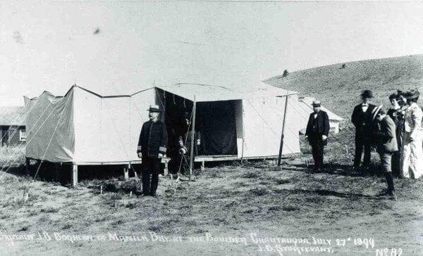 Boulder Chautauqua, July 27, 1899, J.B. Sturtevant
