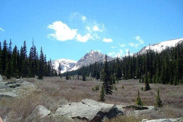 Area A, Mount Evans