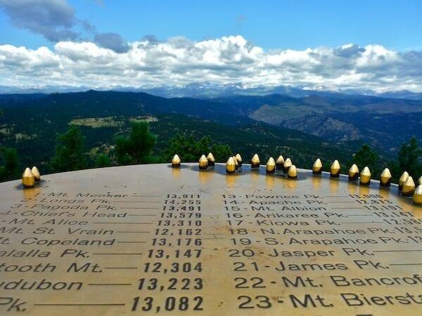 Summit of Green Mountain