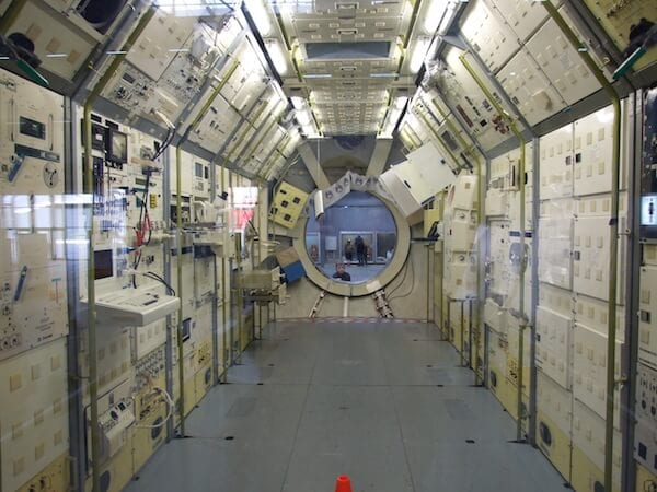 Photo Credit: NASA. SpaceLab LM2 in Germany