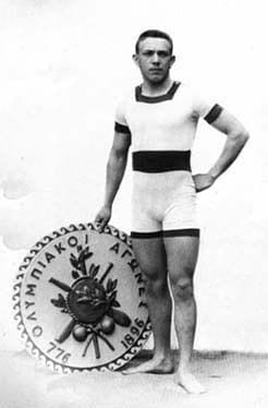 Male Olympic Swimmer ca.1896