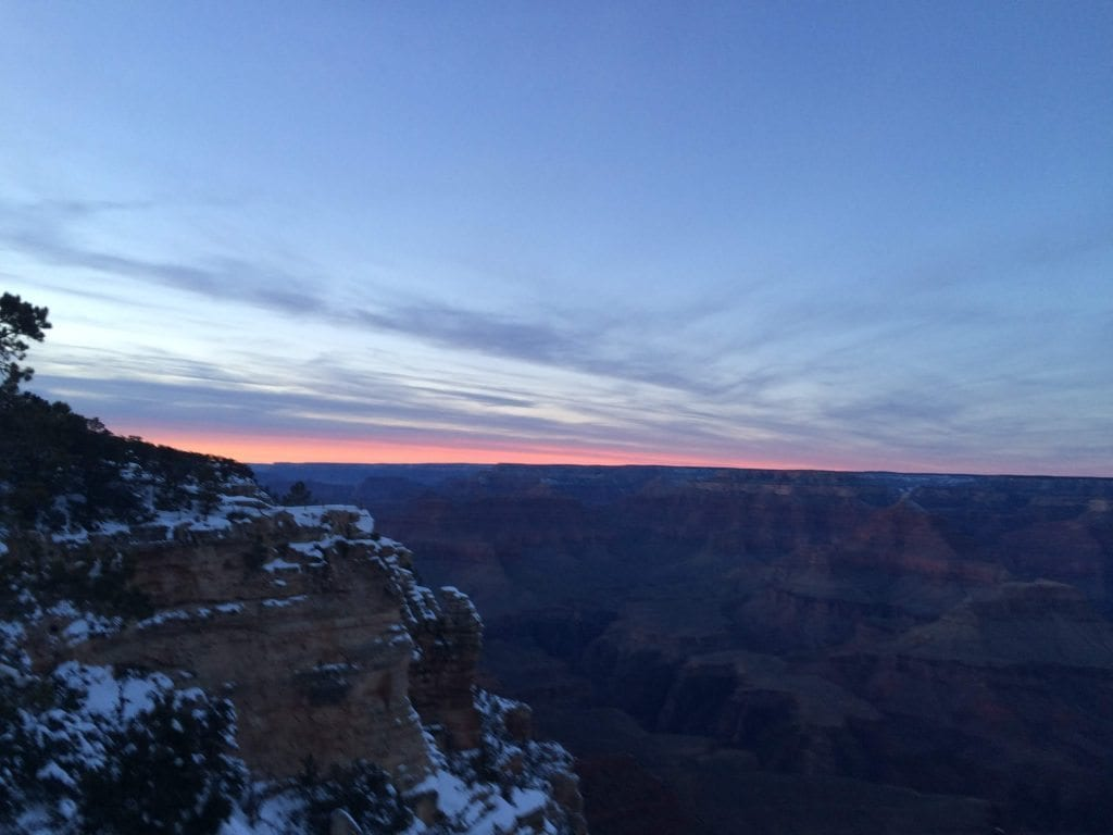 http://www.hikingessentials.net grand canyon sunset