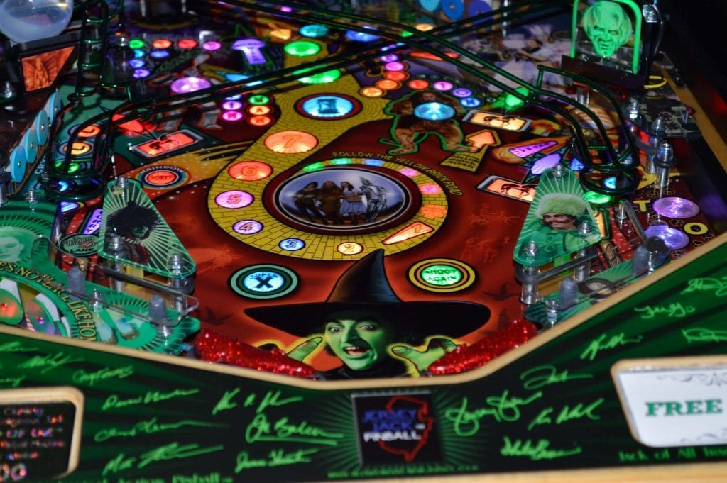 wiz of oz pinball