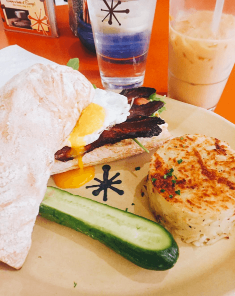 "The ""B.E.A.T. Sandwich"" from Snooze AM Eatery, Photo Courtesy of @foodie_boco on Instagram"