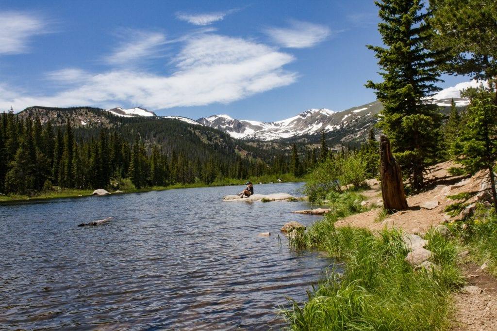 Boulder Lake View