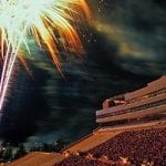 Fourth of July Stadium Fireworks